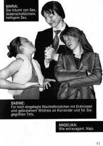 Theaterstück Push Up
