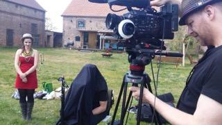 """Kamera-Acting an der Schauspielschule """"Der Kreis"""": Aussenaufnahmen."""