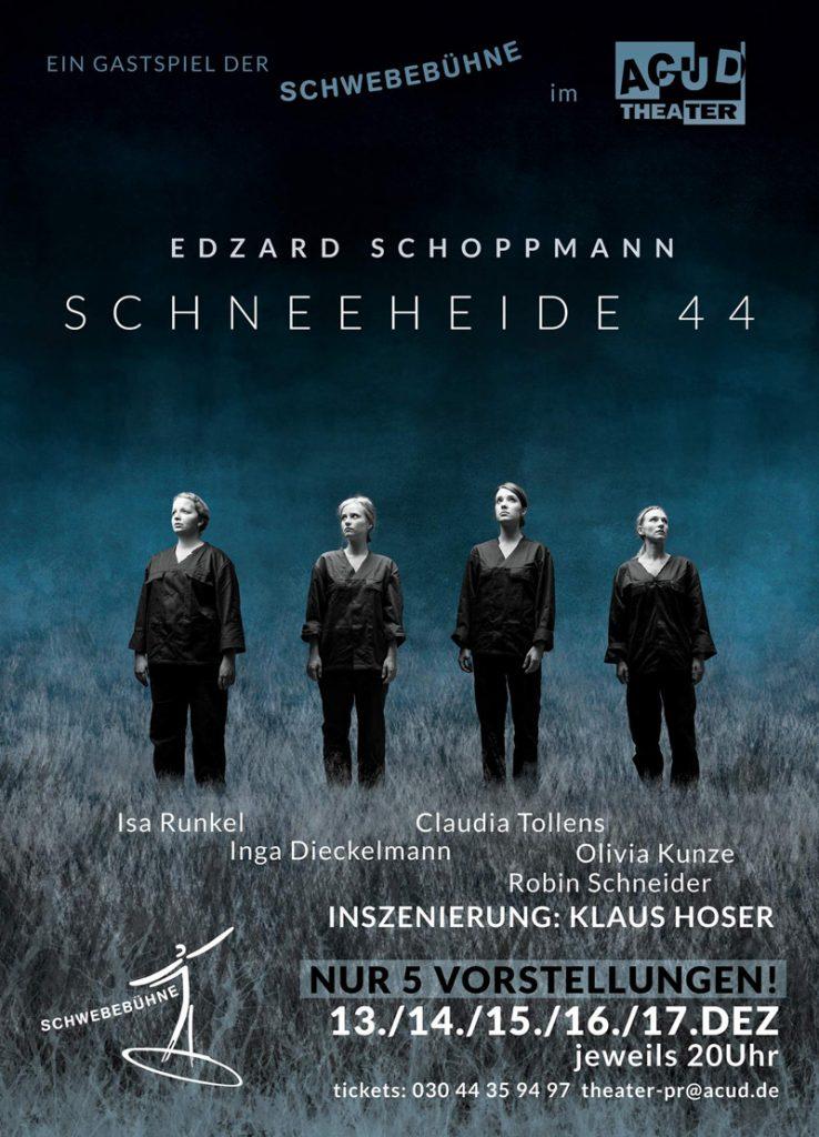 Schwebebühne: Absolventen der Schauspielschule Der Kreis spielen Schneeheide 44.