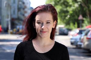 Yasmin Kirschner, Schülerin der Schauspielschule Der Kreis (Fritz Kirchhoff Schule)