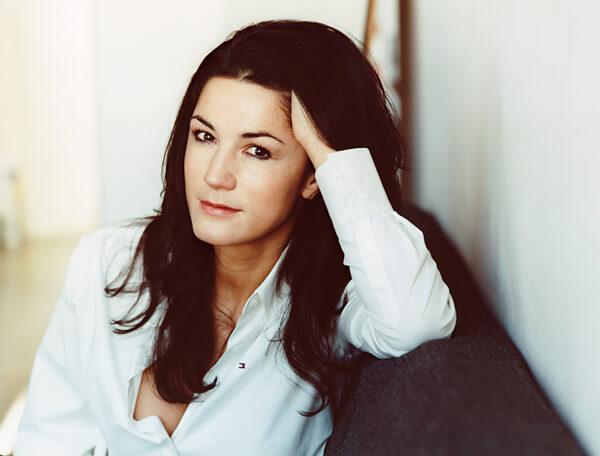Mariella Ahrens, Absolventin der Schauspielschule