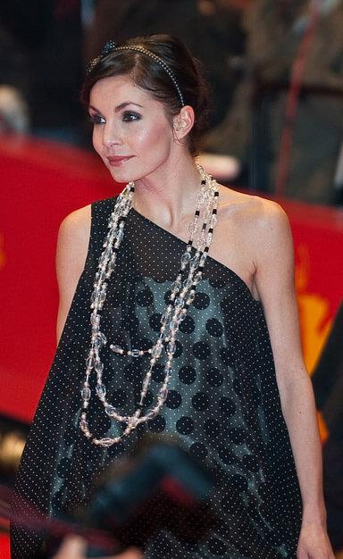 Nadine Warmuth auf der Berlinale 2012. Die erfolgreiche Filmschauspielerin spielte nach Absolvierung der Schauspielausbildung an unserer Schule u.a. bei verschiedensten Kinofilmen (
