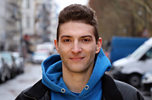 "Ramon Beitzke, Student an der Schauspielschule ""Der Kreis"" Berlin"