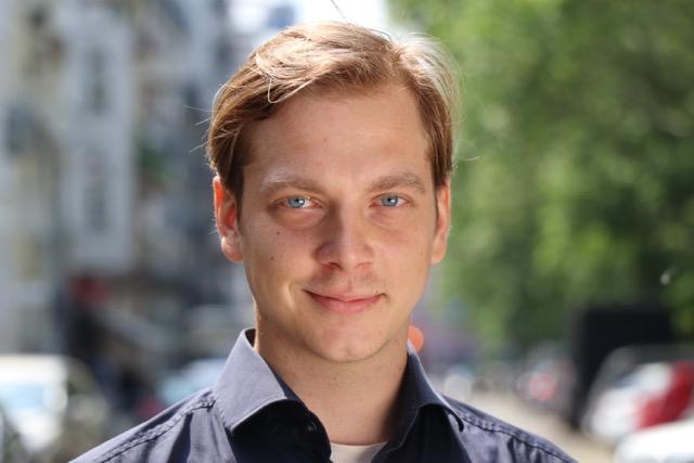 """Johannes Bergel, Schüler an der Schauspielschule """"Der Kreis"""", Berlin"""
