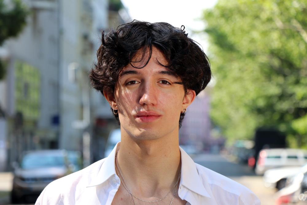 "Fabian Pevestorf, Schüler der Schauspielschule ""Der Kreis"""
