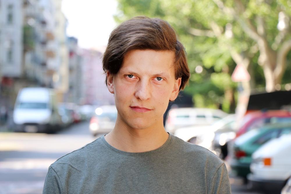 """Tobias Mosig, Schüler der Schauspielschule """"Der Kreis"""""""